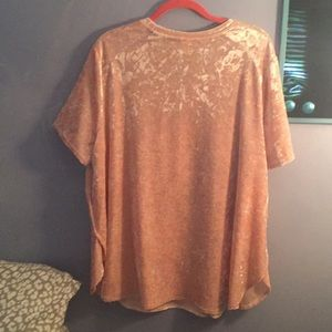 Faded Glory Tops - Pink velvety top